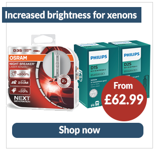 Increased brightness xenon - Shop now