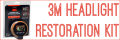 How do I use the 3M Headlight Restoration Kit?
