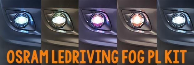 Introducing the OSRAM LEDriving FOG PL Kit!