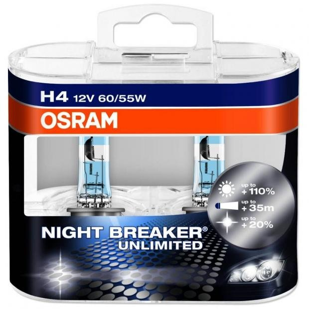 osram night breaker unlimited vs philips x treme vision bulb comparison powerbulbs. Black Bedroom Furniture Sets. Home Design Ideas