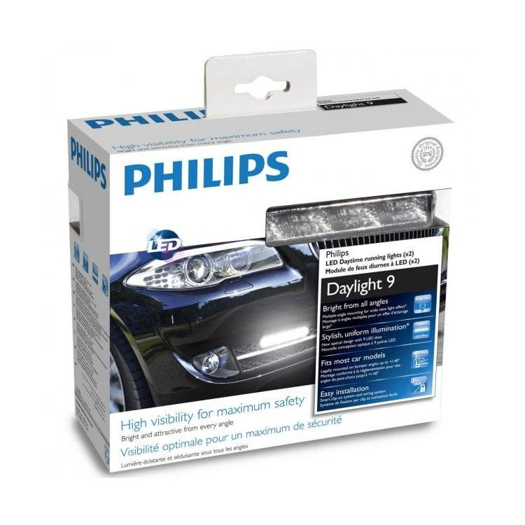philips daylight 9 drl kit daylight running light kit powerbulbs. Black Bedroom Furniture Sets. Home Design Ideas