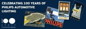 We're celebrating 100 years of Philips Automotive Lighting
