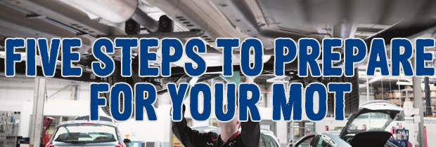 5 Steps To Prepare Your Car For Its MOT