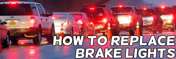 How To Replace A Brake Light Bulb: Replacement Bulb Fitting And Advice