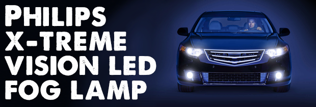 Introducing the Philips X-treme Vision LED Fog Lamps!