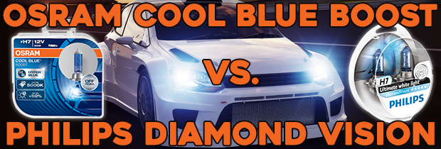 What's The Difference Between OSRAM Cool Blue Boost And Philips Diamond Vision?