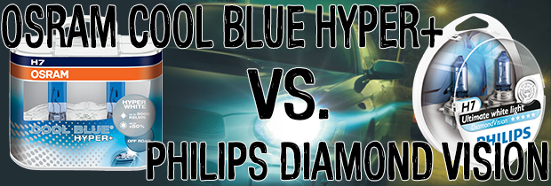 What`s The Difference Between OSRAM Cool Blue Hyper+ and Philips Diamond Vision?
