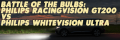 Battle of the Bulbs: Philips RacingVision GT200 v Philips WhiteVision Ultra