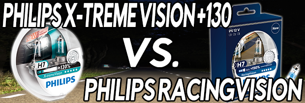 What's The Difference Between Philips RacingVision and Philips X-treme Vision +130?