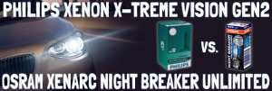 What`s The Difference Between OSRAM Xenarc Night Breaker Unlimited and Philips Xenon X-treme Vision Gen2?
