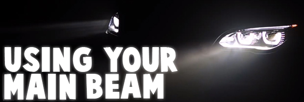 When Should You Use Your Main Beam Headlights?