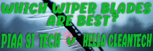 What`s the Difference between PIAA Si-Tech and Hella Cleantech Wiper Blades?