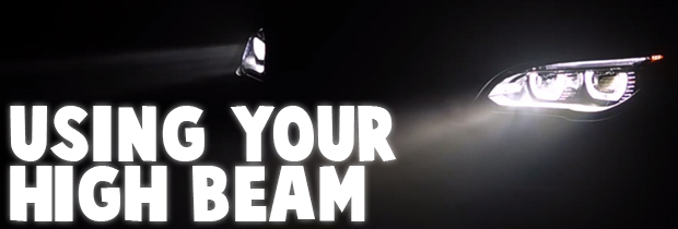 When Should You Use Your High Beam Headlights?
