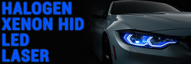 Headlights: Halogen vs. Xenon vs. LED vs. Laser vs. Conversion Kits