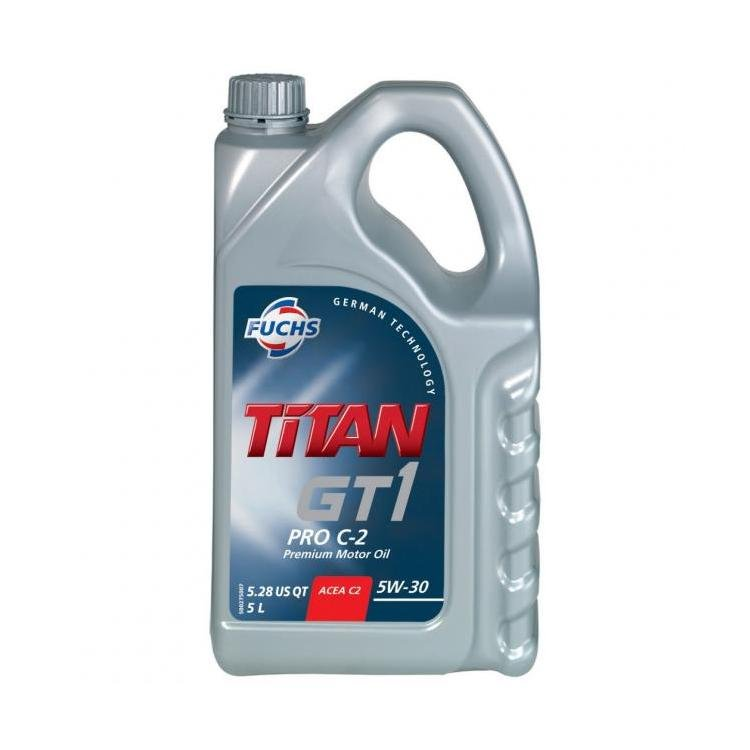 fuchs titan gt1 pro c2 5w 30 5 litre engine oil powerbulbs. Black Bedroom Furniture Sets. Home Design Ideas