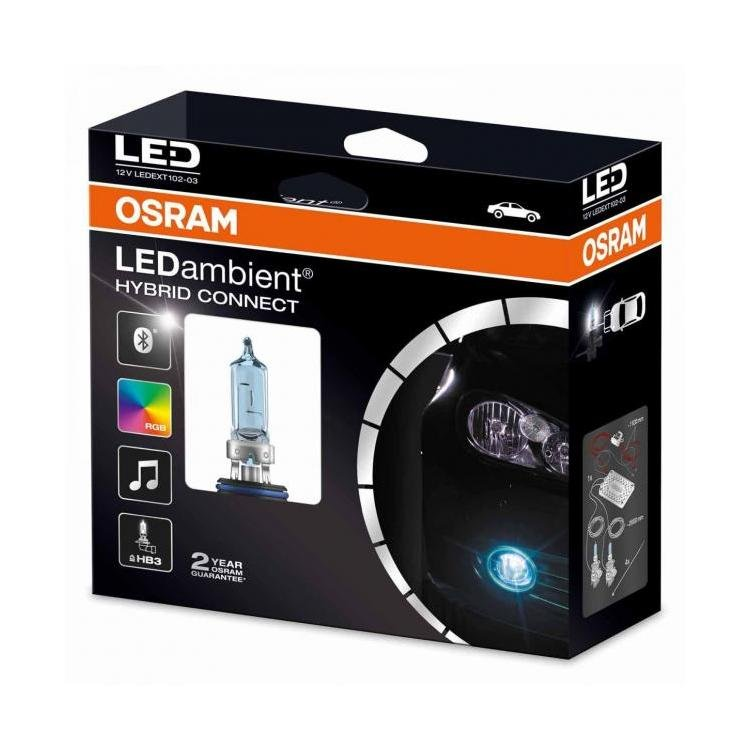 osram ledambient hybrid connect hb3 fog light bulbs. Black Bedroom Furniture Sets. Home Design Ideas