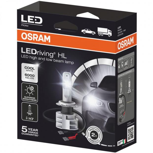 LEDriving Next Generation LED H7 (Twin)