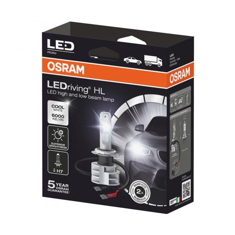 Led H7 Twin Car Headlight