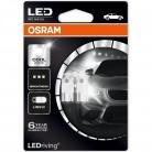 OSRAM W5W 501 LEDriving Long Life Cool White (Twin)