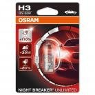 OSRAM Night Breaker Unlimited H3 (Single)