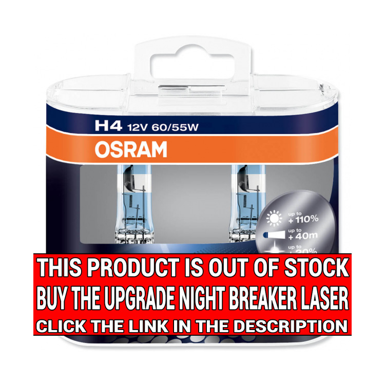 osram night breaker unlimited 9003 hb2 h4 headlight bulb. Black Bedroom Furniture Sets. Home Design Ideas
