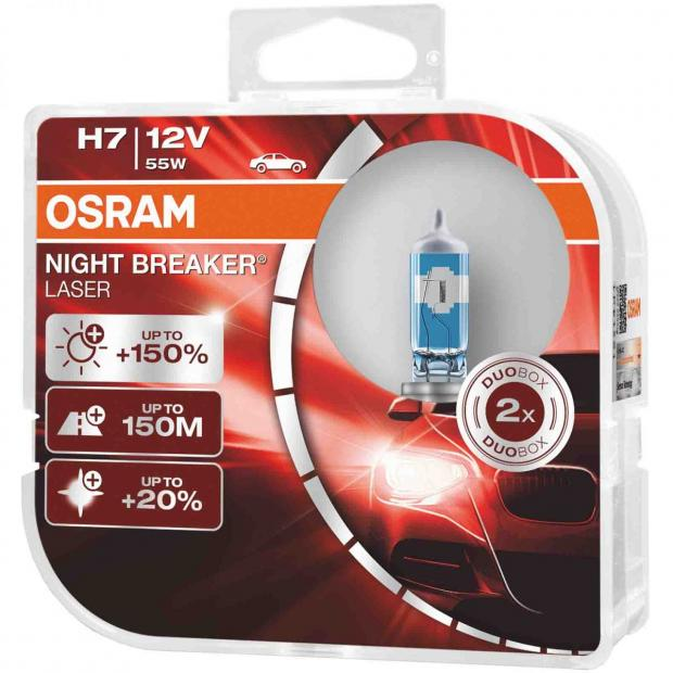 2x Renault 19 MK2 Genuine Osram Original Stop Brake Light Bulbs