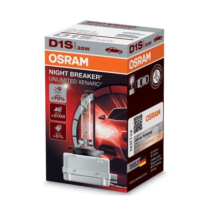 osram xenarc night breaker unlimited d1s xenon hid bulb. Black Bedroom Furniture Sets. Home Design Ideas