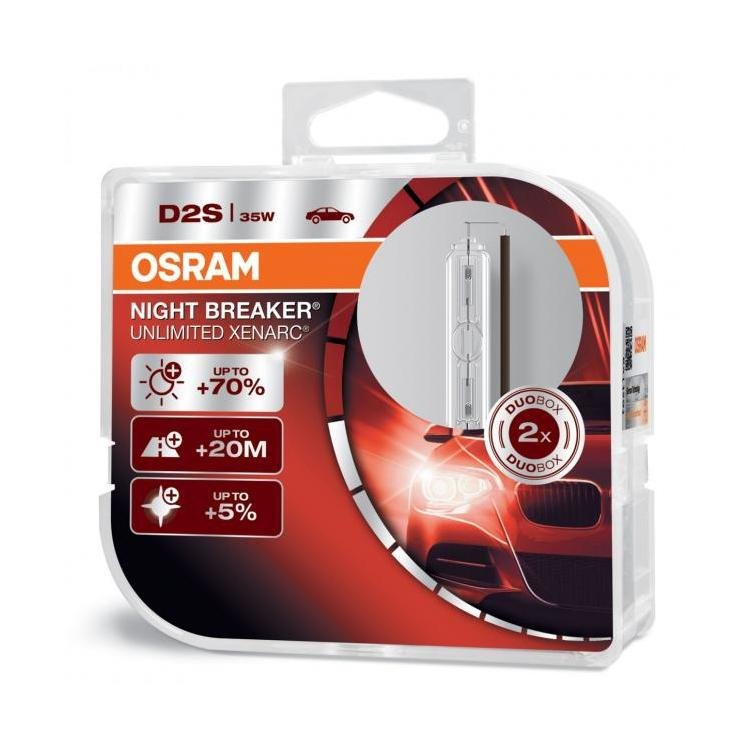 osram xenarc night breaker unlimited d2s xenon hid bulb. Black Bedroom Furniture Sets. Home Design Ideas