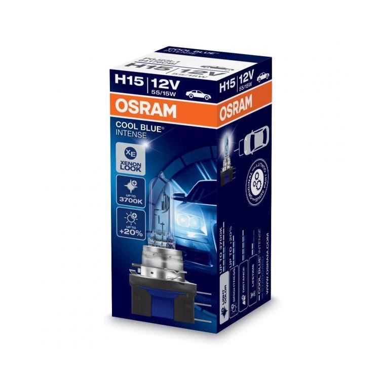 osram cool blue intense h15 car headlight bulbs powerbulbs. Black Bedroom Furniture Sets. Home Design Ideas