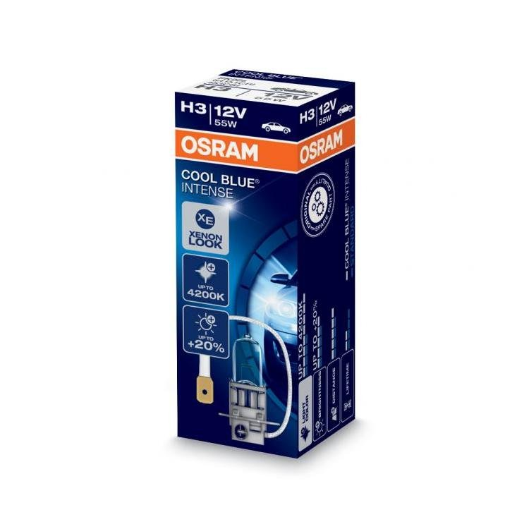 osram cool blue intense h3 headlight bulbs powerbulbs. Black Bedroom Furniture Sets. Home Design Ideas