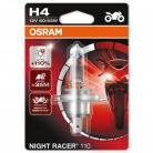 OSRAM Night Racer 110 H4 Bulb (Single)