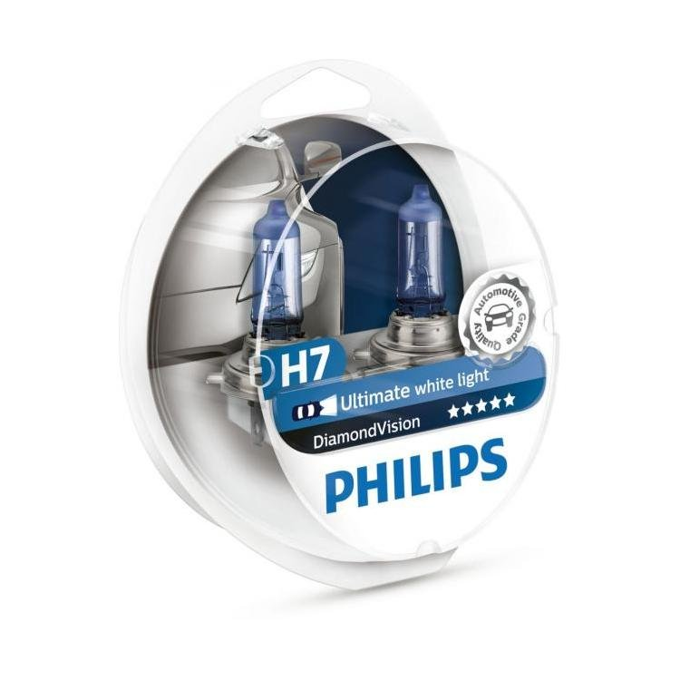 philips diamond vision h7 5000k replacement styling car bulbs powerbulbs. Black Bedroom Furniture Sets. Home Design Ideas