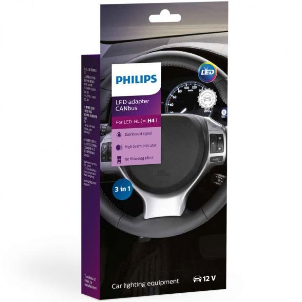 LED Canbus Adapter H4 (Twin)