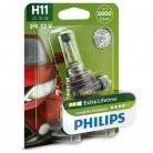 Philips Longlife EcoVision H11 Headlight Bulbs (Single Pack)