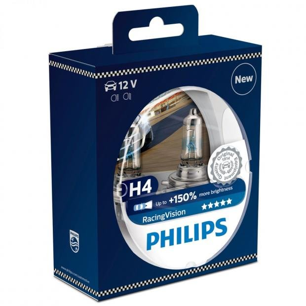 Car Parts Philips RacingVision H4 (Twin)