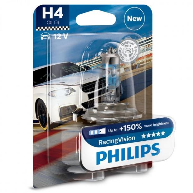 Car Parts Philips RacingVision H4 (Single)