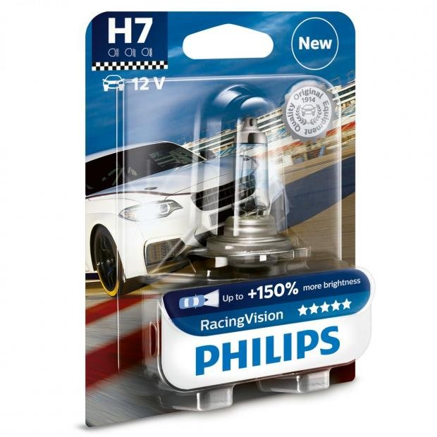 Car Parts Philips RacingVision H7 (Single)