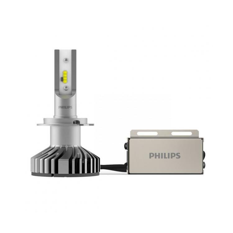 philips x tremeultinon led car headlight bulb h7 twin
