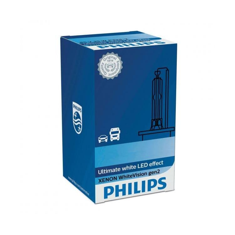 Philips Xenon WhiteVision gen2 D2R HID Car Bulb (Single ...