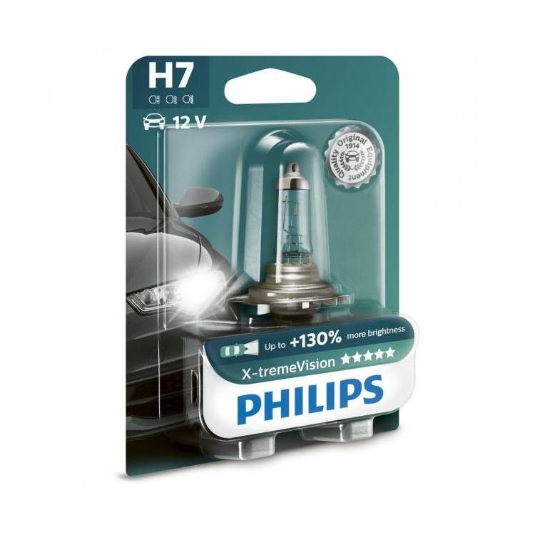 philips x treme vision 130 h7 headlight bulbs. Black Bedroom Furniture Sets. Home Design Ideas
