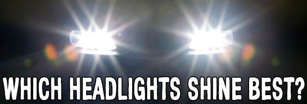Which Headlights Shine Best: Halogen, HID or LED?